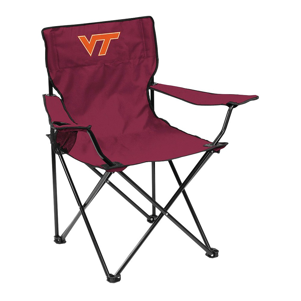 Virginia Tech Hokies Quad Folding Camp Chair with Carrying Case
