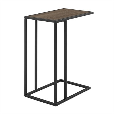 "20"" Modern Two-Toned C Side Table - Saracina Home"