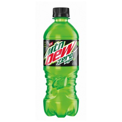 Mountain Dew Zero Sugar - 20 fl oz Bottle
