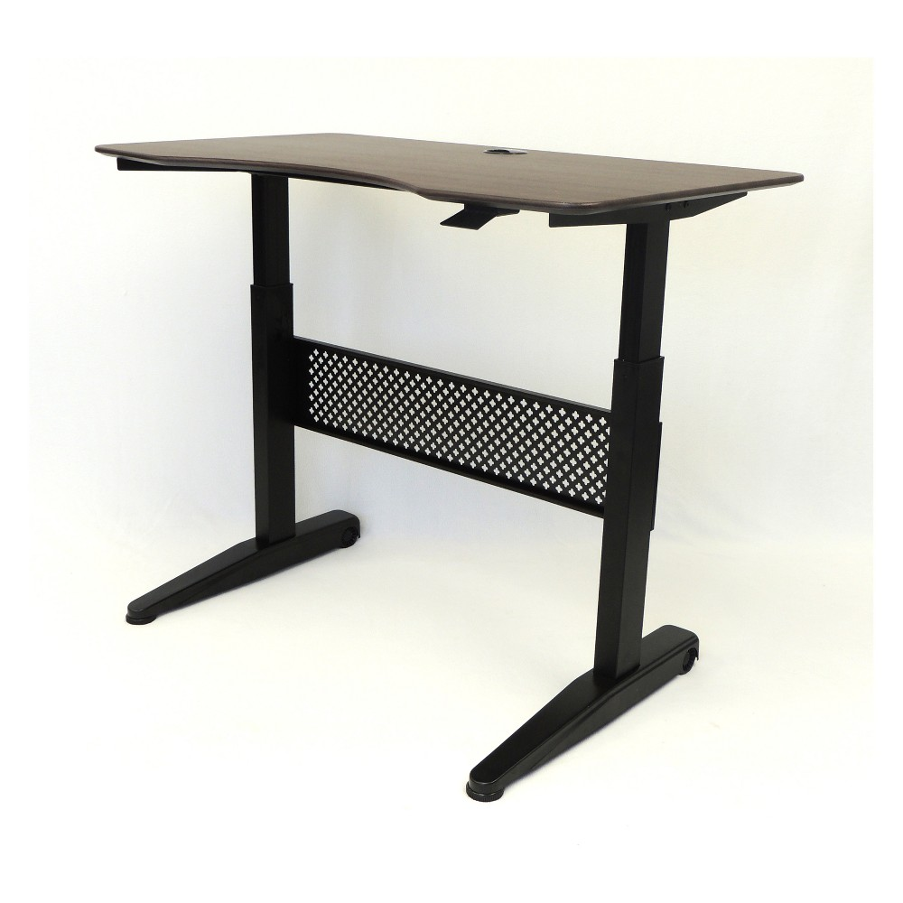"Image of ""48"""" Height Adjustable Desk Mocha - Boss"""