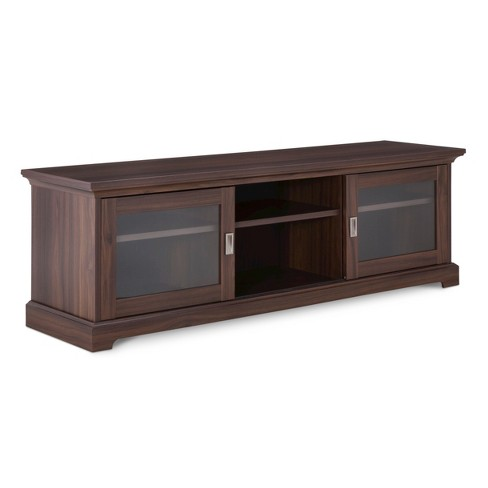 "Sliding Door TV Stand 55"" - Threshold™ - image 1 of 4"