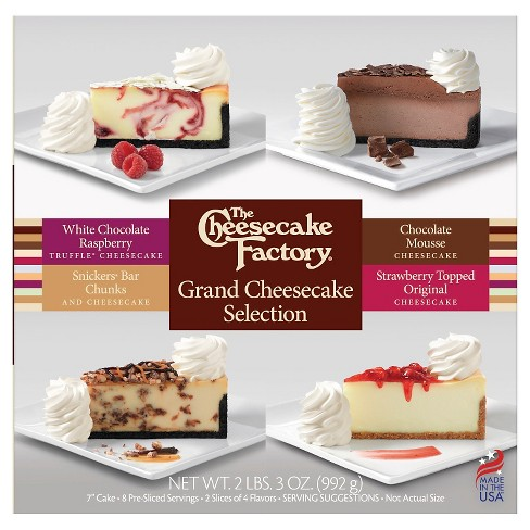 The Cheesecake Factory Frozen Grand Cheesecake Selection - 3oz - image 1 of 1