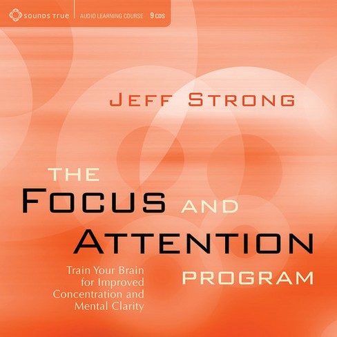 Jeff strong - Focus and attention program:Train you (CD) - image 1 of 1