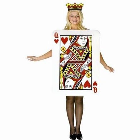 Queen of Hearts Card Adult Costume - image 1 of 1