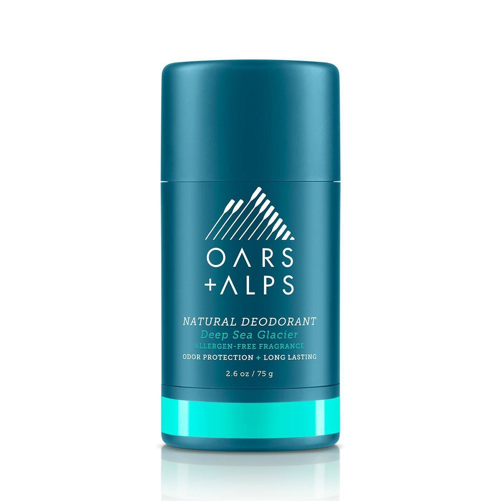 Image of Oars + Alps Men's Sensitive Aluminum-Free Natural Deodorant - Deep Sea Glacier - 2.6oz
