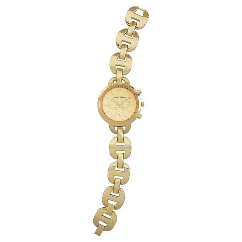 Women's Journee Collection Link Watch - Gold - image 1 of 2