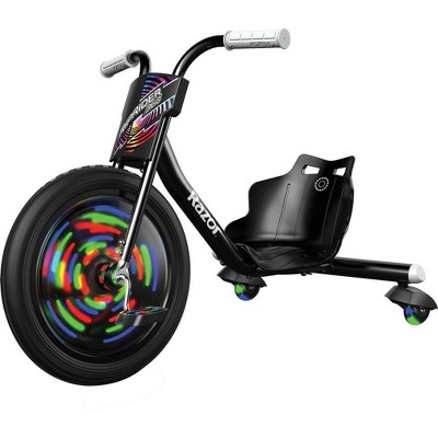 "Razor Lightshow Rip Rider 16"" Kids' Trike - Black"
