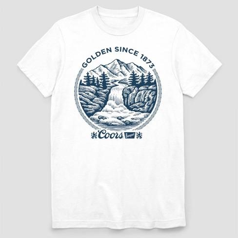 d856f9775d Men's Coors Banquet Short Sleeve Graphic T-Shirt White : Target