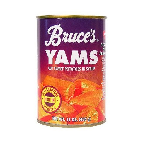 Bruce's Yams Cut Sweet Potatoes in Syrup - 15oz - image 1 of 1