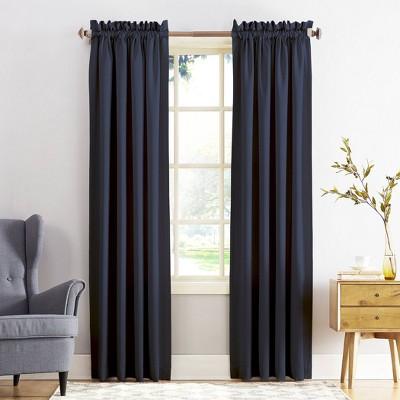 Seymour Energy Efficient Room Darkening Rod Pocket Curtain Panel - Sun Zero