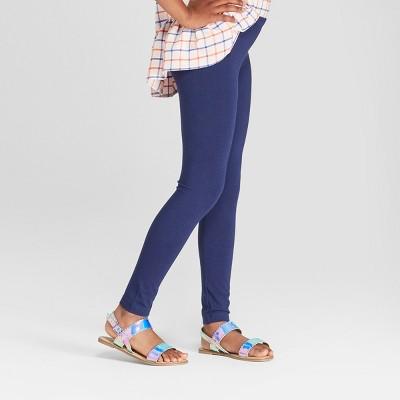 Girls' Leggings - Cat & Jack™ Navy S