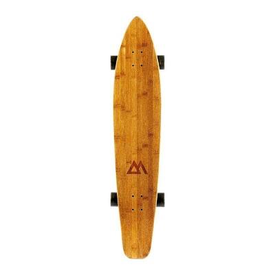 "Magneto Boards 44"" Kicktail Cruiser Skateboard - Black"