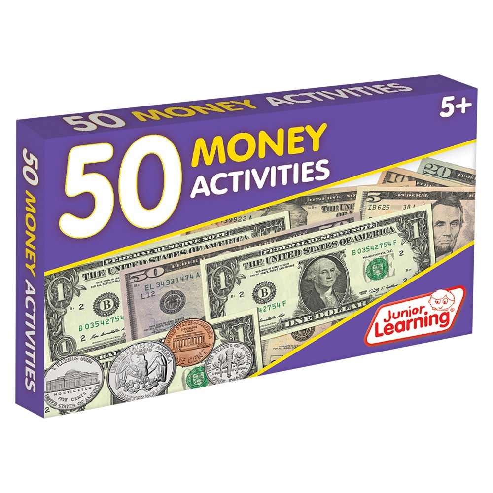 Image of Junior Learning 50 Money Activities Learning Set