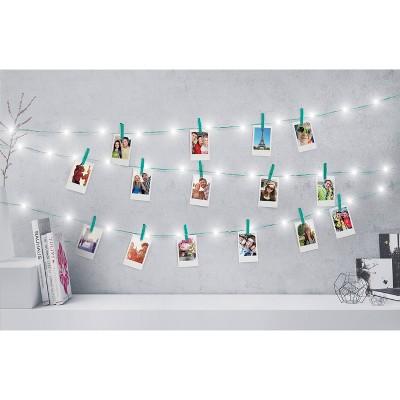 Merkury Innovations Chrome Firefly Mini Clip Led String Lights   Mint by Mint