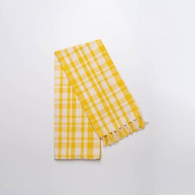 Cotton Gingham Kitchen Towel Yellow - Threshold™