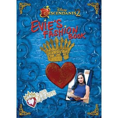 Evie's Fashion Book -  (Disney Descendants 2) (Hardcover)