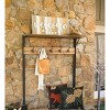Deep Creek Rustic Coat Rack With Storage & Shelves - Made From Reclaimed Wood - Plow & Hearth - image 3 of 4