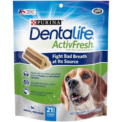 Nestle Purina Dentalife Small/Medium Chicken Chewy Dog Treats