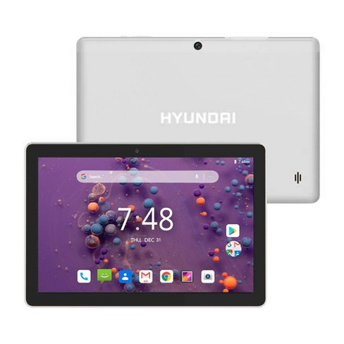 """Hyundai Koral 10"""" Tablet 10X3 2GB 32GB 2MP/5MP Wifi Android 9.0 Silver - image 1 of 4"""