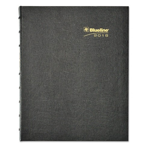 blueline miraclebind 17 mo academic planner hard cover 9 1 4 x 7