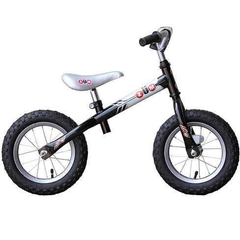 87d95125994 Zum 2064 Sx Kids Toddler Metal Outdoor Cycling Balance Bike, Black And Gray  : Target