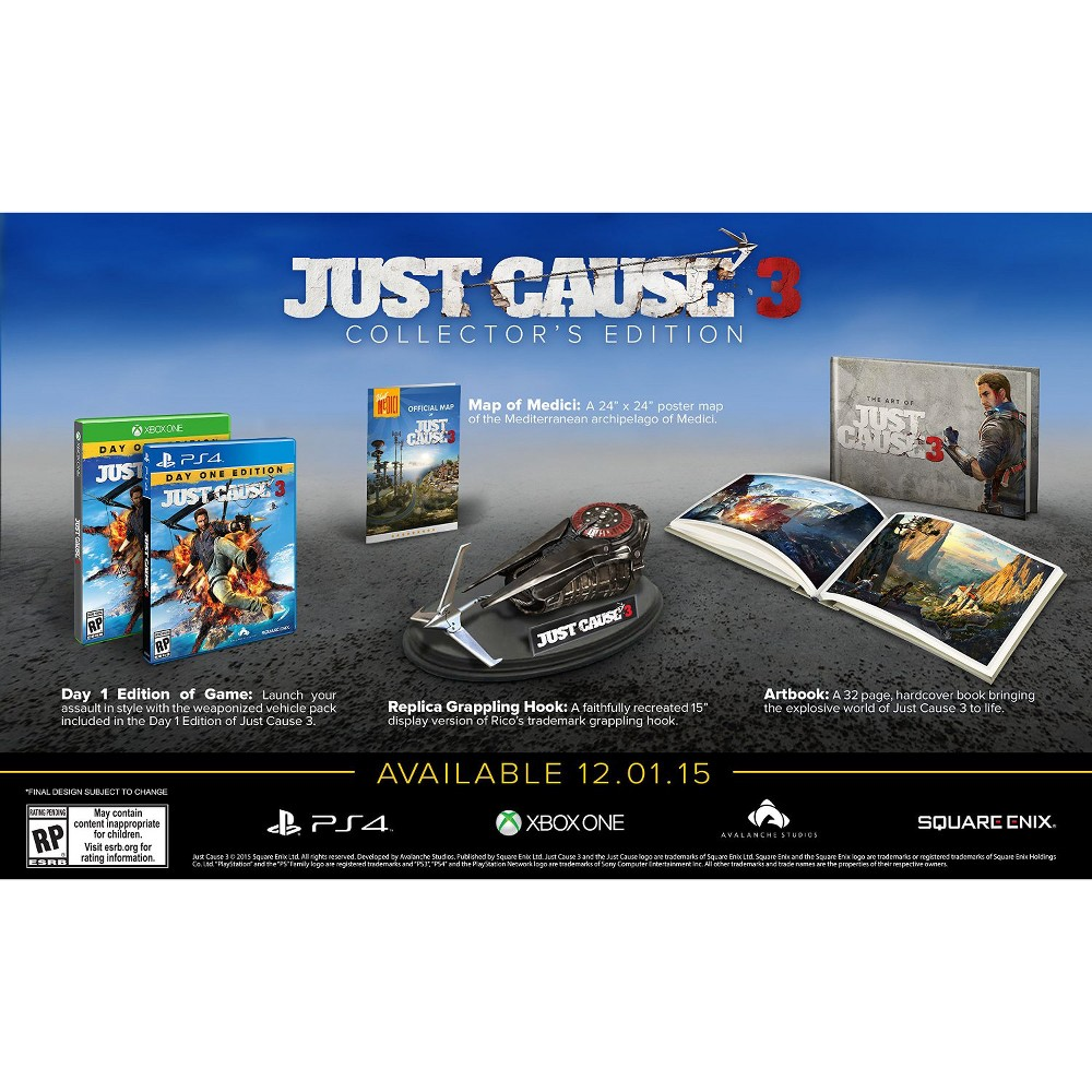 Just Cause 3: Collector's Edition PlayStation 4