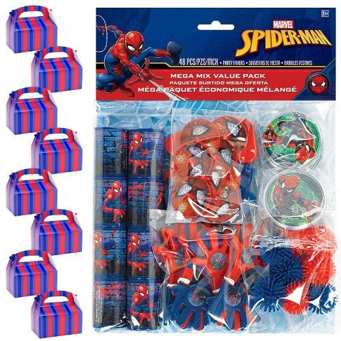 8ct Spider-Man Webbed Wonder Filled Favor Box Kit - image 1 of 1