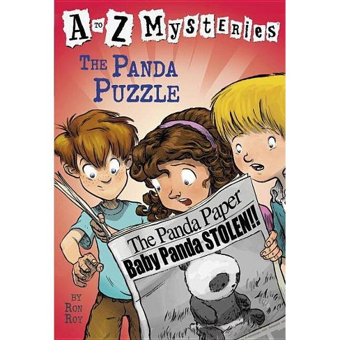 The Panda Puzzle - (A to Z Mysteries) by  Ron Roy (Paperback) - image 1 of 1