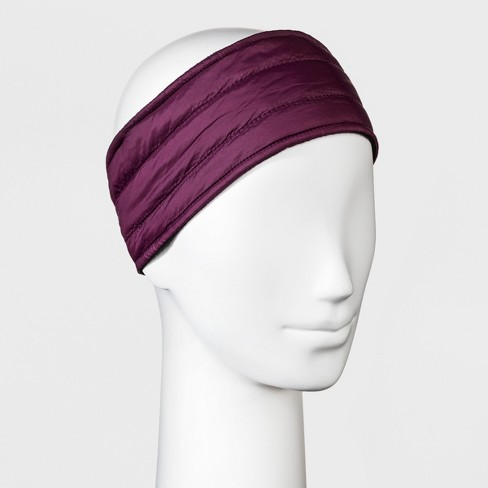3839732abaf71 Women s Quilted Outerwear Headband - C9 Champion® Purple   Target