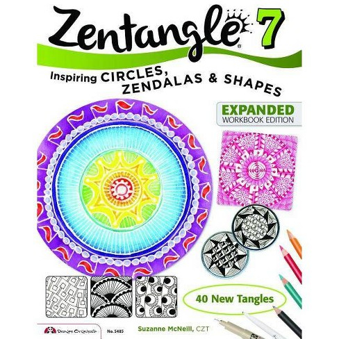 Zentangle 10 - (Design Originals) by  Suzanne McNeill (Paperback) - image 1 of 1