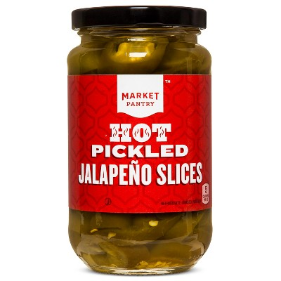Sliced Jalapeno Peppers 12oz - Market Pantry™