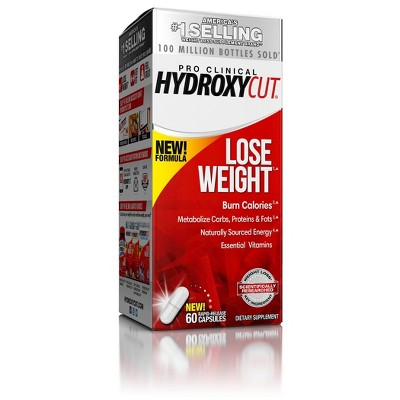 Hydroxycut Pro Clinical Weight Loss Rapid Release Capsules - 60ct