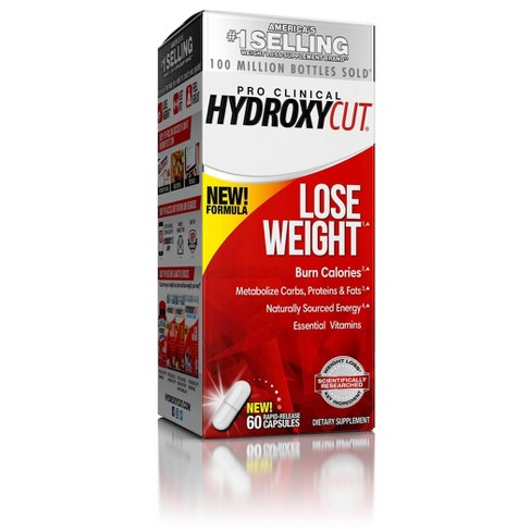 Hydroxycut Pro Clinical Weight Loss Rapid Release Capsules - 60ct - image 1 of 3