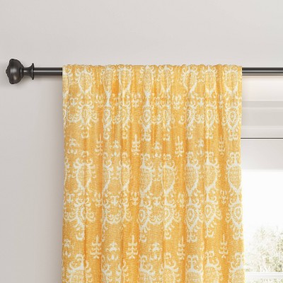 Printed Matelasse Rod Pocket Blackout Curtain Panel - Threshold™