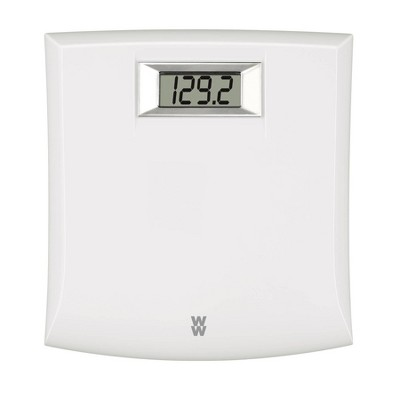 Digital Plastic Scale White - Weight Watchers