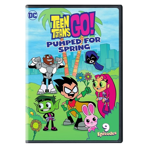Teen Titans Go! Pumped for Spring (DVD) - image 1 of 1