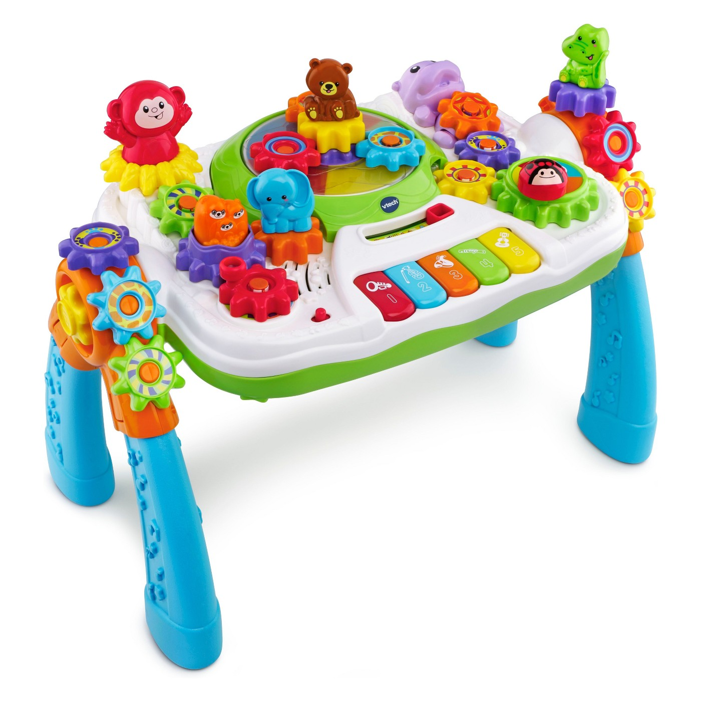 VTech GearZooz 2-in-1 Jungle Friends Gear Park - image 1 of 9