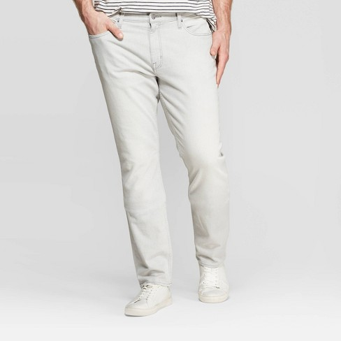 Men's Tall Slim Fit Jeans - Goodfellow & Co™ Gray - image 1 of 3