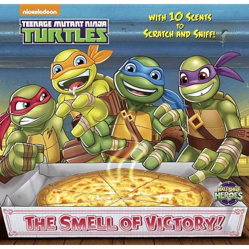 The Smell of Victory! (Teenage Mutant Ninja Turtles) - (Scratch-And-Sniff Book) (Hardcover) - image 1 of 1