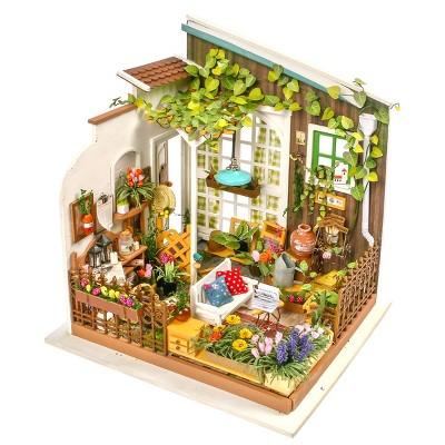 Hands Craft DIY 3D Wooden Puzzles -  Miniature House: Miller's Garden
