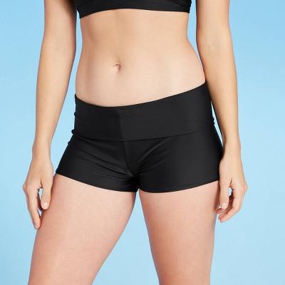 Women's Foldover Swim Boyshort - Kona Sol™