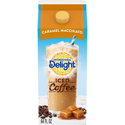 International Delight Caramel Macchiato Iced Coffee - 64 fl oz
