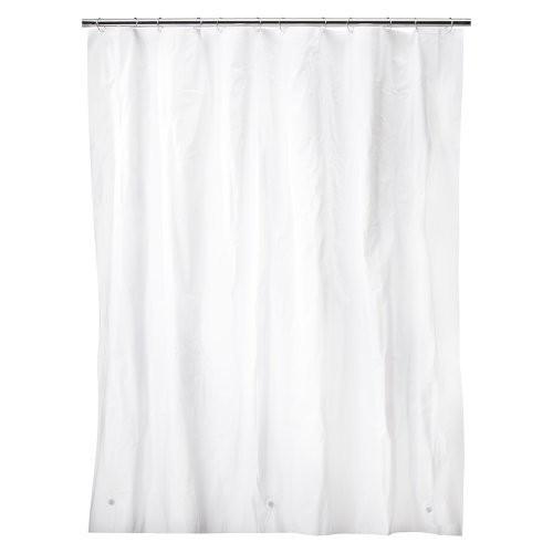 Solid Super Soft PEVA Shower Liner White - Room Essentials