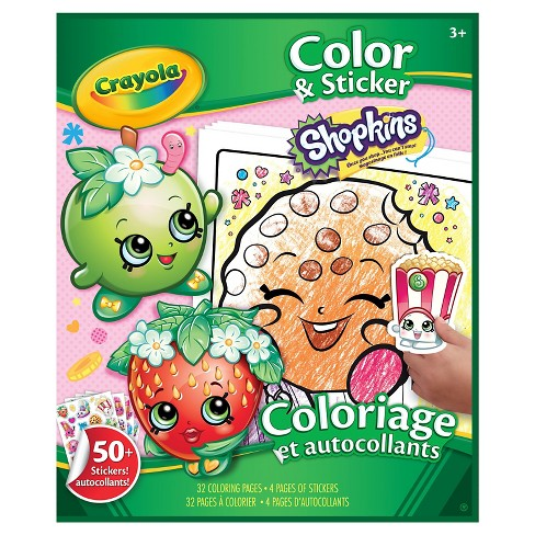 Crayola® Color and Sticker - Shopkins - image 1 of 1