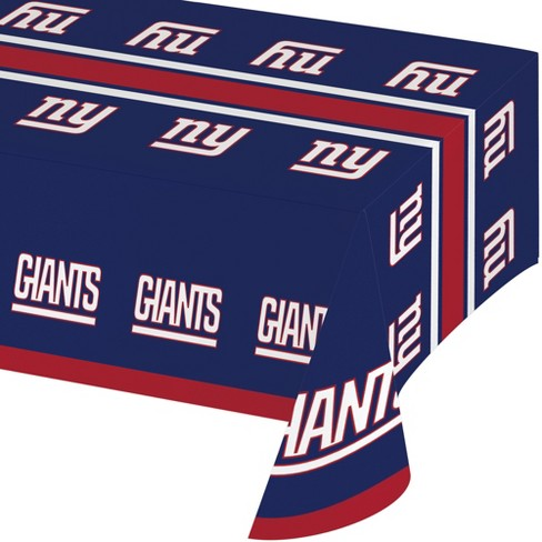 New York Giants Plastic Tablecloth - image 1 of 1