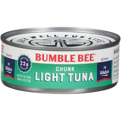 Bumble Bee Chunk Light Tuna in Water - 5oz