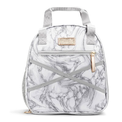Fit & Fresh Athleisure Carli Lunch Kit Set -  Marble