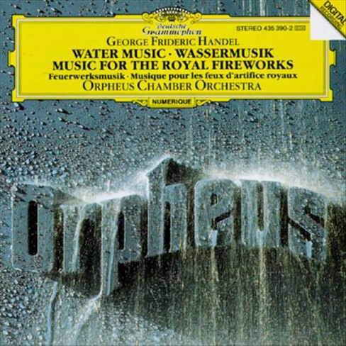 Orpheus chamber orch - Handel:Water music (CD) - image 1 of 1