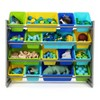 Kids' Super-Size Toy Organizer Elements Collection Gray - Humble Crew - image 2 of 4
