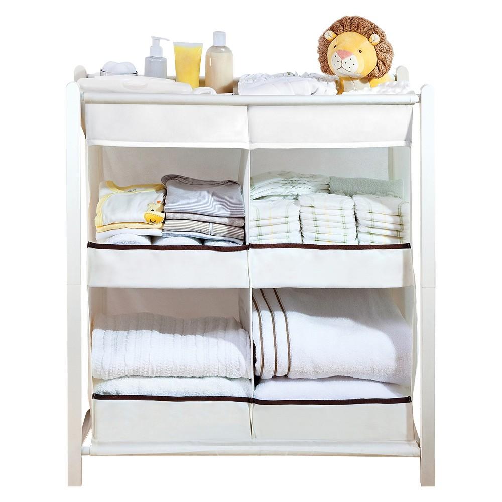 Munchkin Nursery Essentials Organizer, White